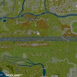 "Map ""Forgotten Taiga 3"", 2 photo"