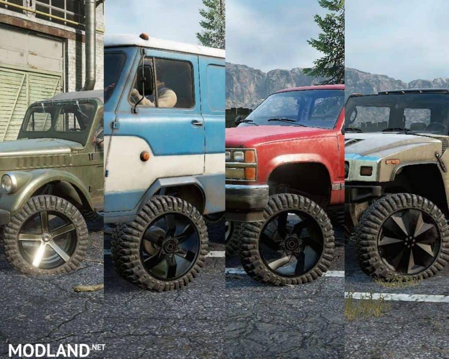 SR custom wheels 3.0 Mod