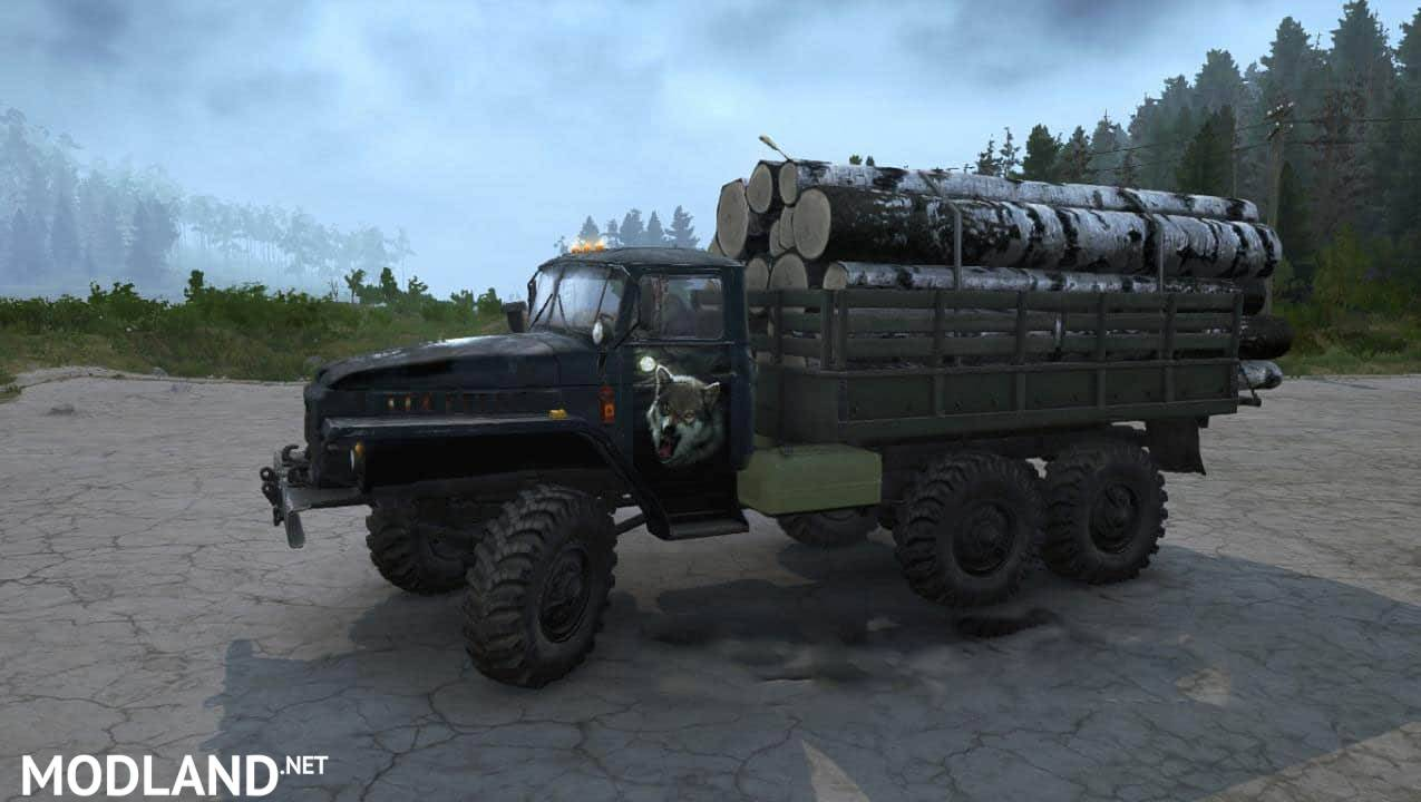 "Texture Ural-375 ""Night Hunter"""