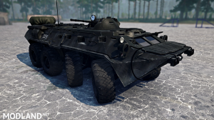 BTR-80 version 13.06.18 for Spintires: MudRunner (v18 / 05/21), 2 photo