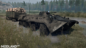 BTR-80 version 13.06.18 for Spintires: MudRunner (v18 / 05/21), 3 photo