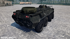 BTR-80 version 13.06.18 for Spintires: MudRunner (v18 / 05/21), 5 photo