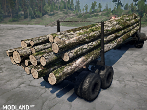Texture log with moss v 1.0 for (v18/05/21), 1 photo