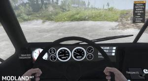 Detailed Dash Gauges and Compass Mod, 3 photo