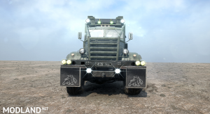 Protection for KrAZ-255