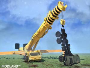 Liebherr LTM11200-9 self-propelled crane v 1.0, 1 photo