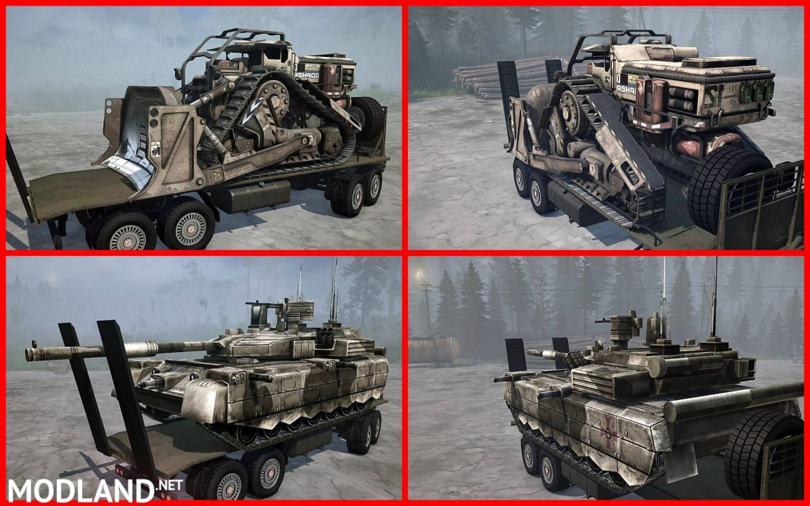 Pack trailers