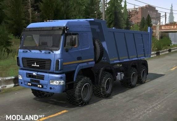 MAZ 8×8 Truck