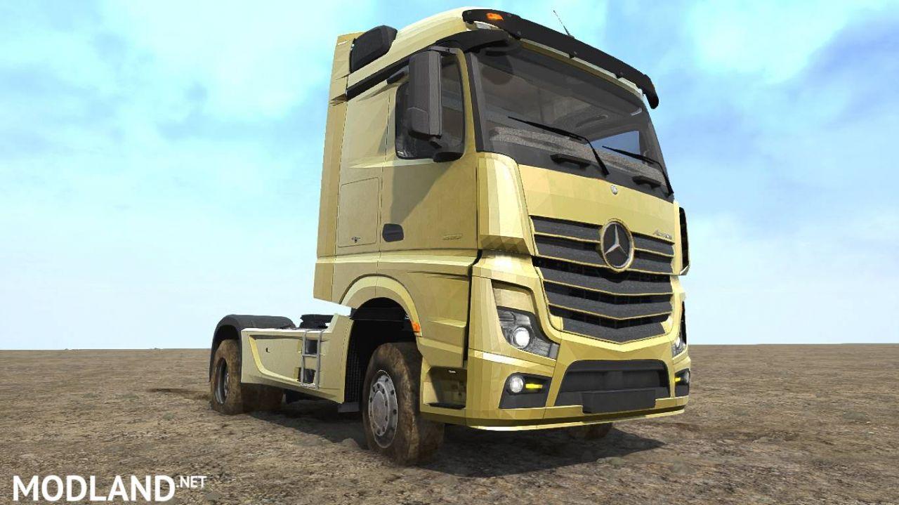 Mercedes Benz Actros 01