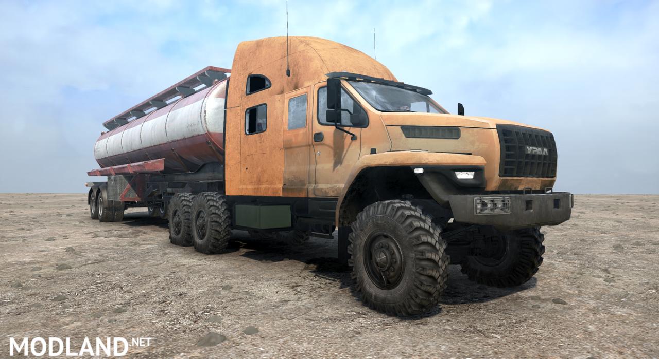 Ural 4320-6951-74 NEXT version 12/20/18