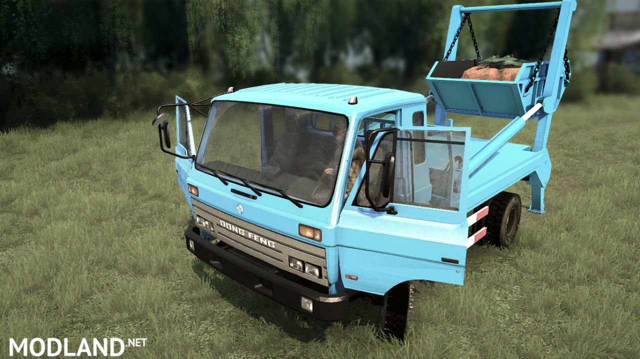 Dong Feng 153 version 04.03.18 for Spintires: MudRunner (v29.01.18)