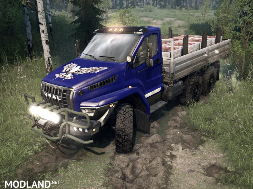 Ural Next version 1.0.0 for Spintires: MudRunner (v11.12.17)
