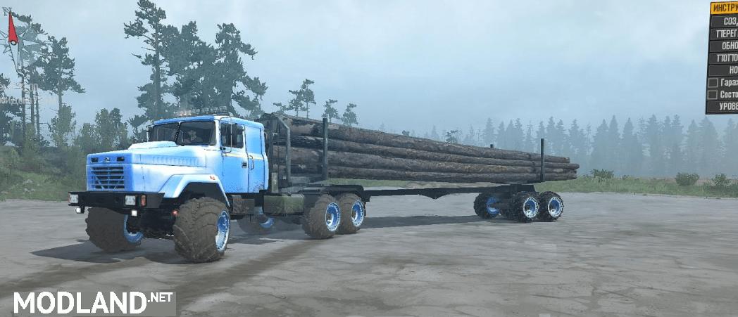 "KraZ-63221 ""Ali"" Truck"