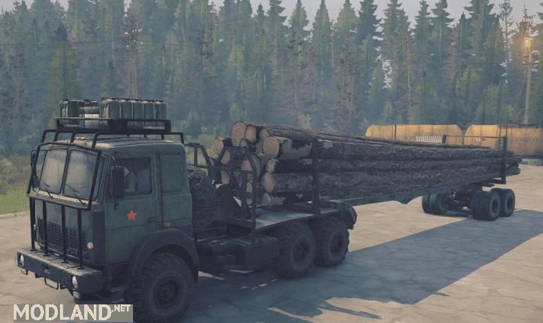 MAZ-6317 Truck