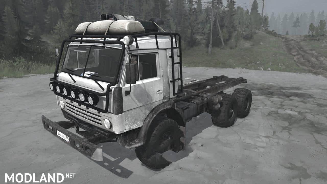 KamAZ-43114 Truck