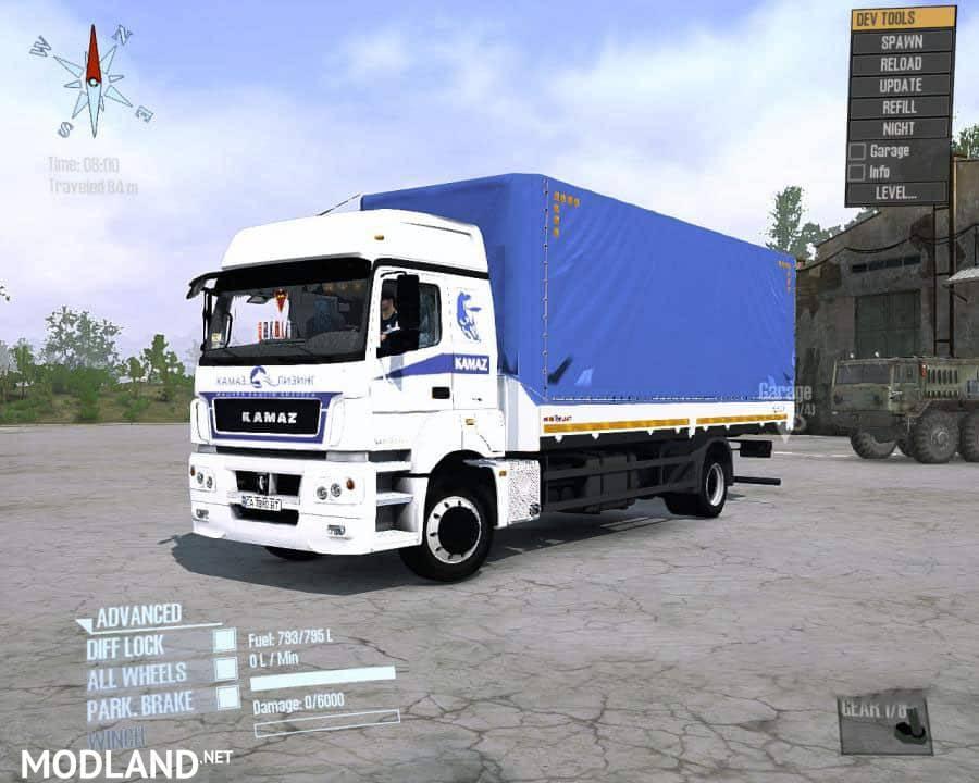 KamAZ-5325 Truck
