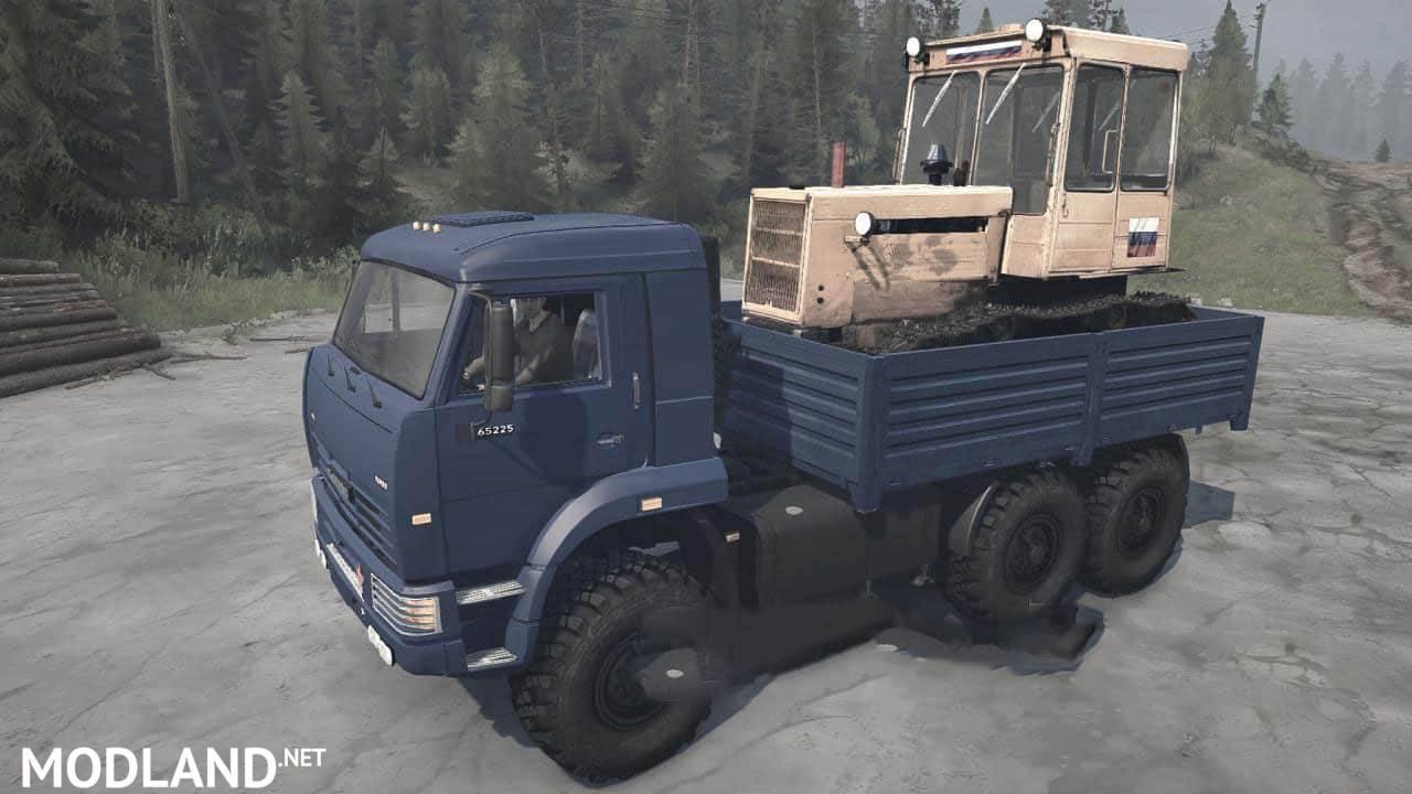 KAMAZ-65225 Truck