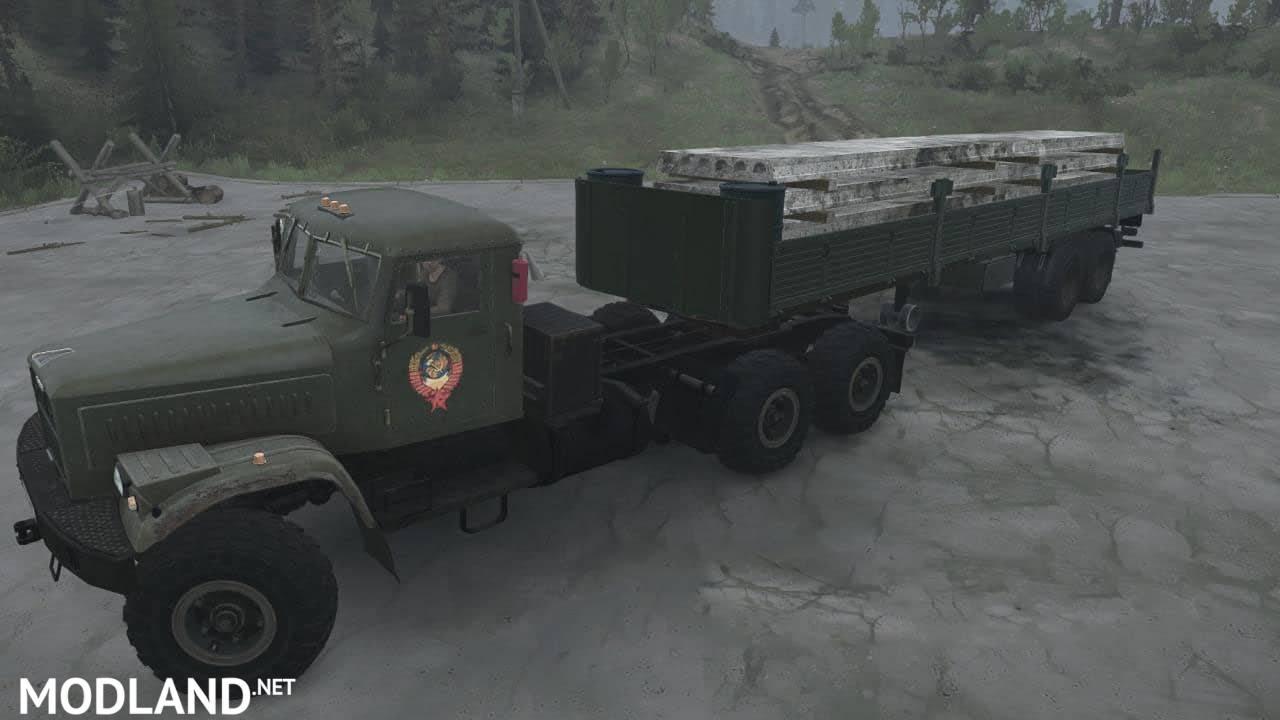 KRAZ RSK Truck