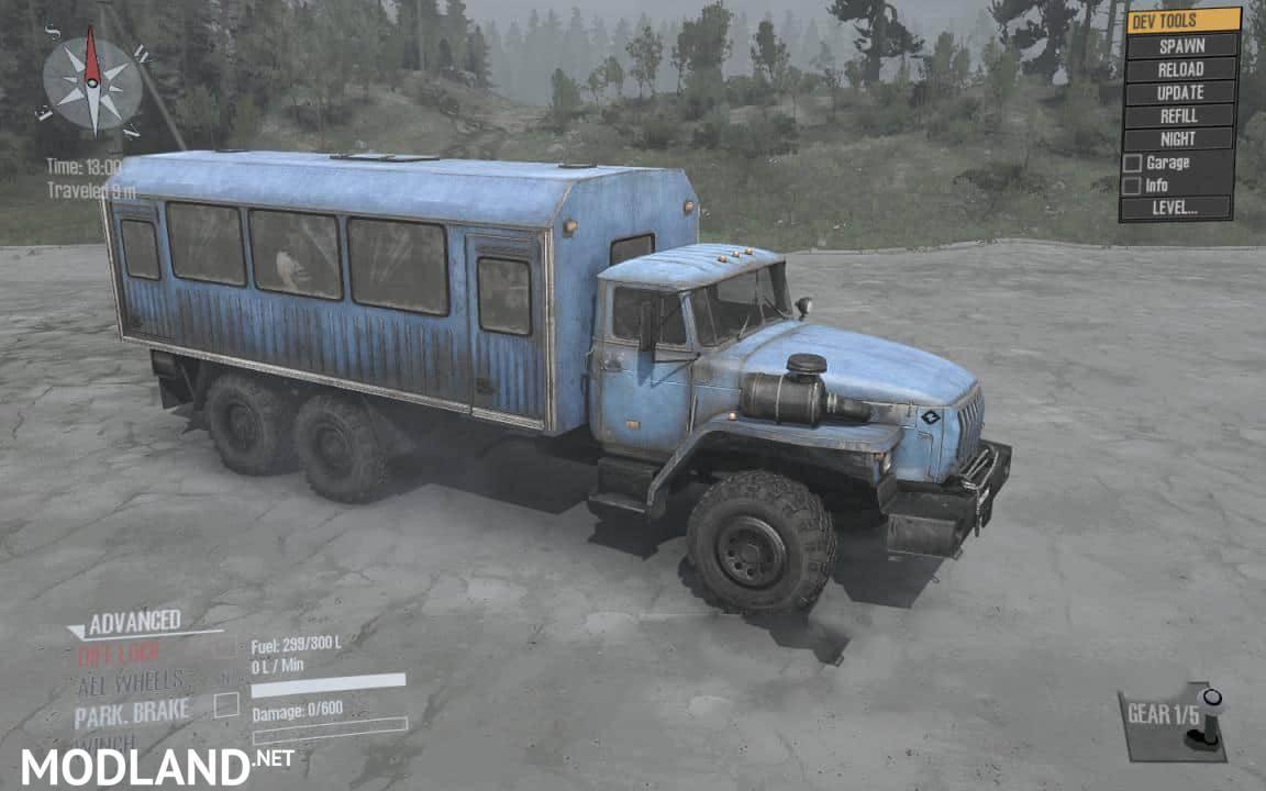 Ural 4320-40 Truck