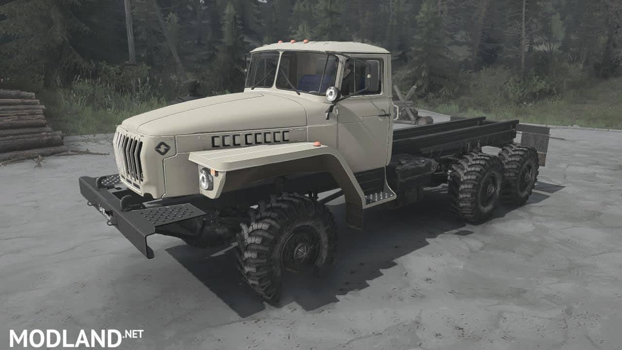 Ural-4320 Truck