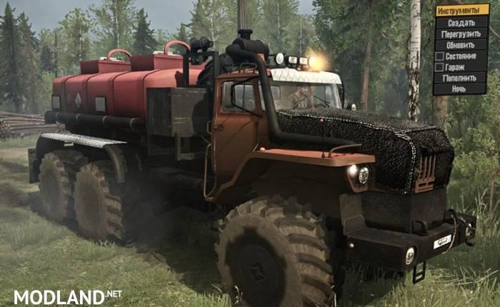 "Ural ""Polarnik"" Truck"