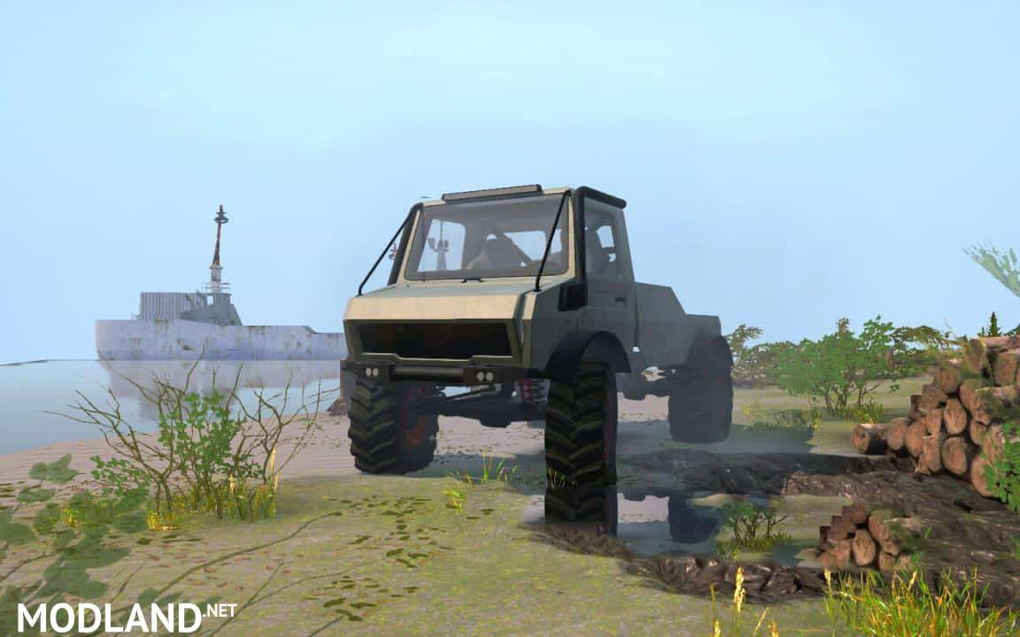 Wrangmog Rally Unimog U1300L mod