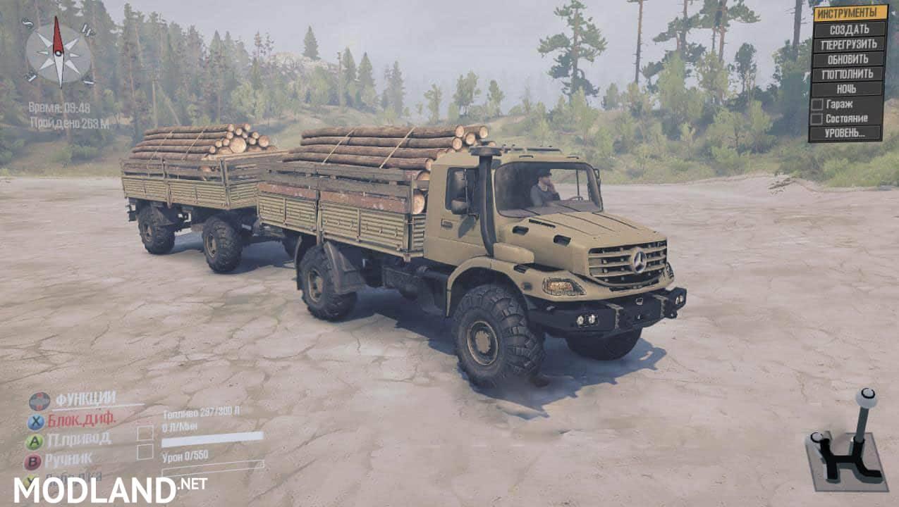 Zetros 4×4 Truck
