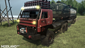 KAMAZ-4310 10x10 PHANTOM version 16.03.18 for (v29.01.18), 3 photo
