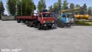 KamAZ 4310 and 55102