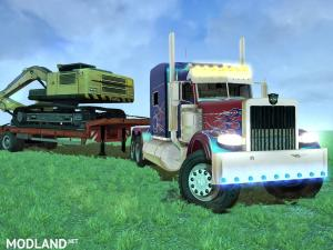 Optimus Prime + Trailer