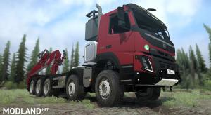 Volvo FMX 10x8 Tandem Lesovoz
