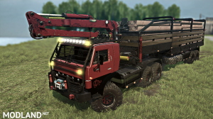 KAMAZ-4310 10x10 PHANTOM version 16.03.18 for (v29.01.18), 1 photo