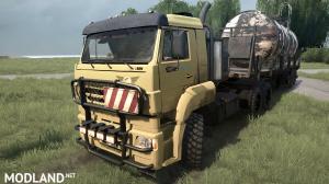Pak Tractor Units 6x6 v 1.0 for (v29.01.18)