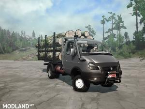 """GAZ-33027 """"Gazelle"""" v 1.0"""