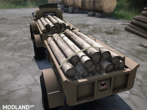 "ZiL-157 ""Woodcutter"" version 26.09.18, 4 photo"