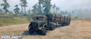 KrAZ 6322 Truck v 0.1, 2 photo