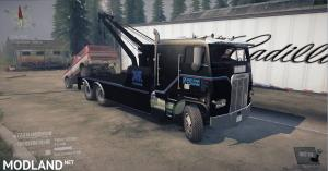1987 Freightliner FLA 9664 tow truck