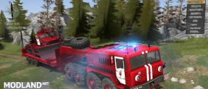 MAZ-535 Fire Service v 2.0, 4 photo