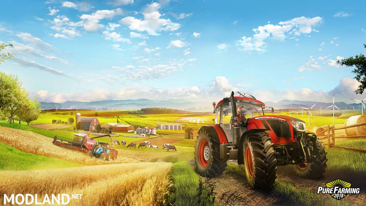Pure Farming 2018 Game – Farming Goes Global