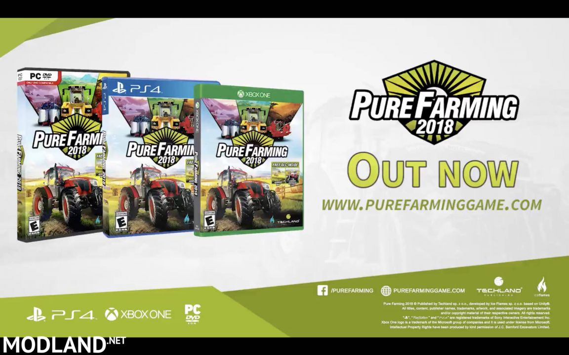 Pure Farming 2018 Is Released! First Look
