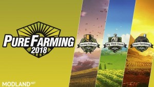 Three Game Modes in the Pure Farming 2018