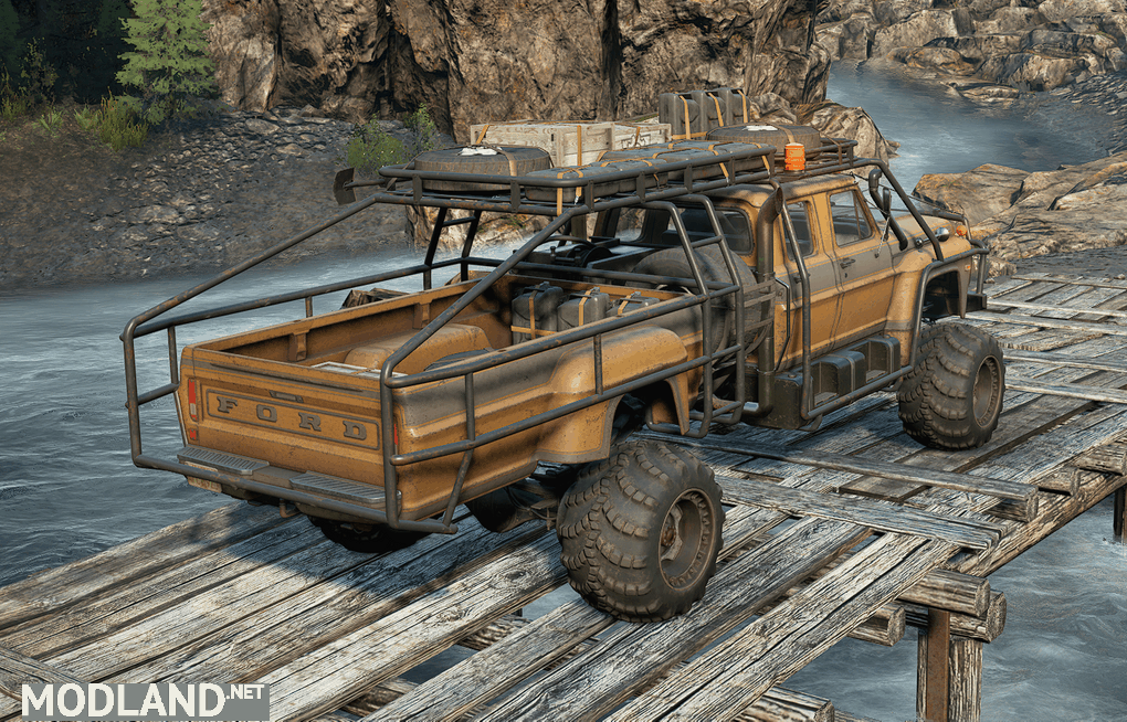 Emil's Ford F750 1.0.0 Mod