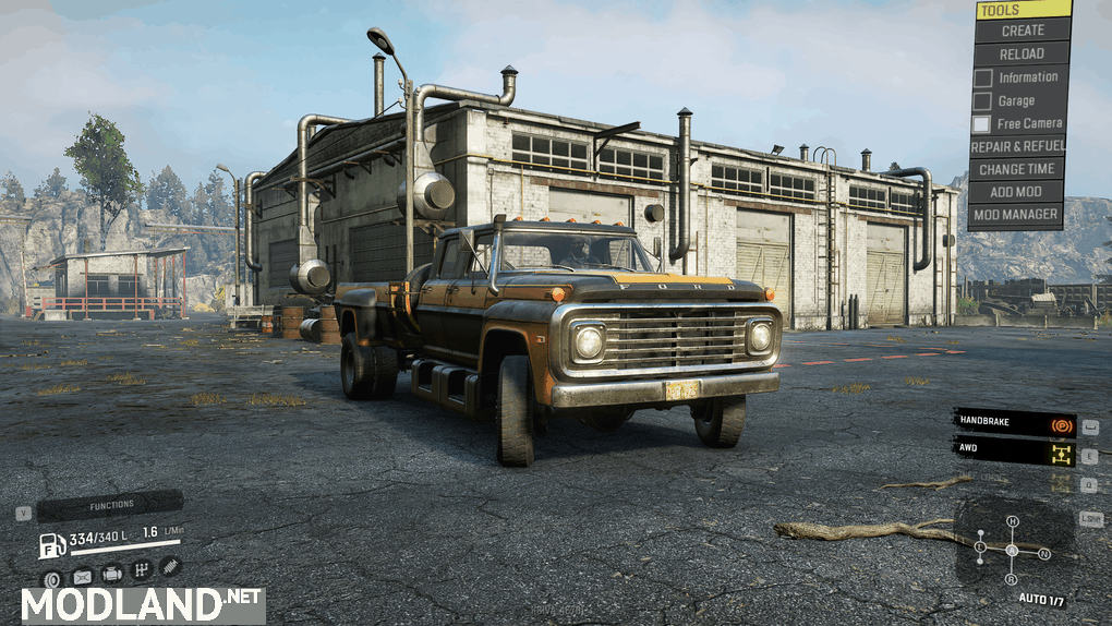 "F750S and the ""FIRE CHIEF"" 2.0.0 Mod"