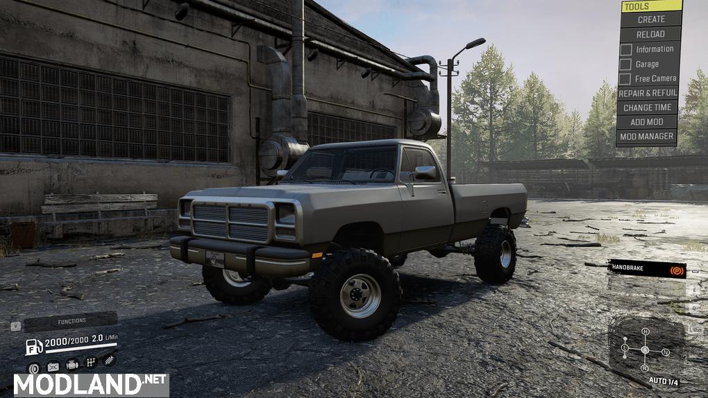 Frog's 1st Gen Dodge Ram v1 Mod