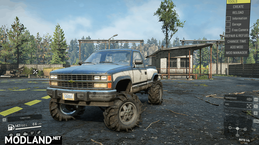 Improved Chevy K1500 M181 1.0.0 Mod