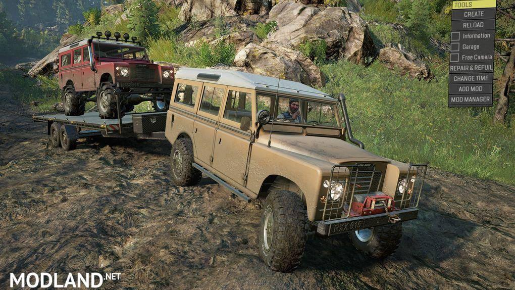 Land Rover series III 1.0 Mod