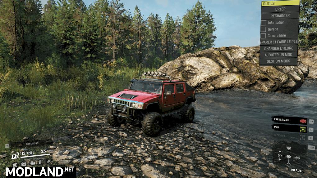 Hummer H2 SE Coop Version 1.0.1 Mod