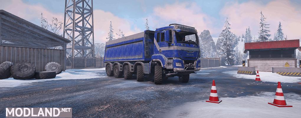 MAN Truck TGS 480 10X4 1.0.1 Mod