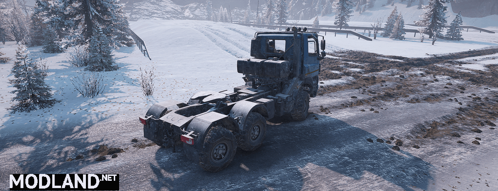 TATRA Truck Phoenix 1.0.1 Mod
