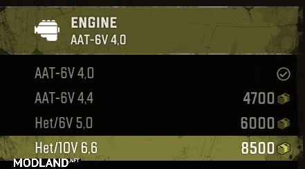 F750 – FIXED missing engine v1.1 Mod